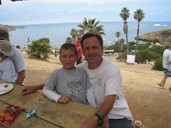 Parker and Dad in Catalina Island