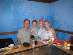 Dad's Birthday at Benihana