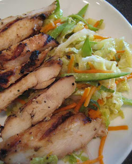It's A Keeper: Teriyaki Chicken with Warm Ginger-Carrot Slaw