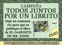 TODOS JUNTOS POR UN LIBRITO!! EL LIBRO DEL GABINETE