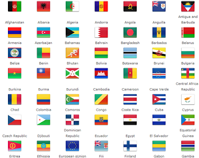 Hundreds World Flag Icons Free Download | Web Cool Tips