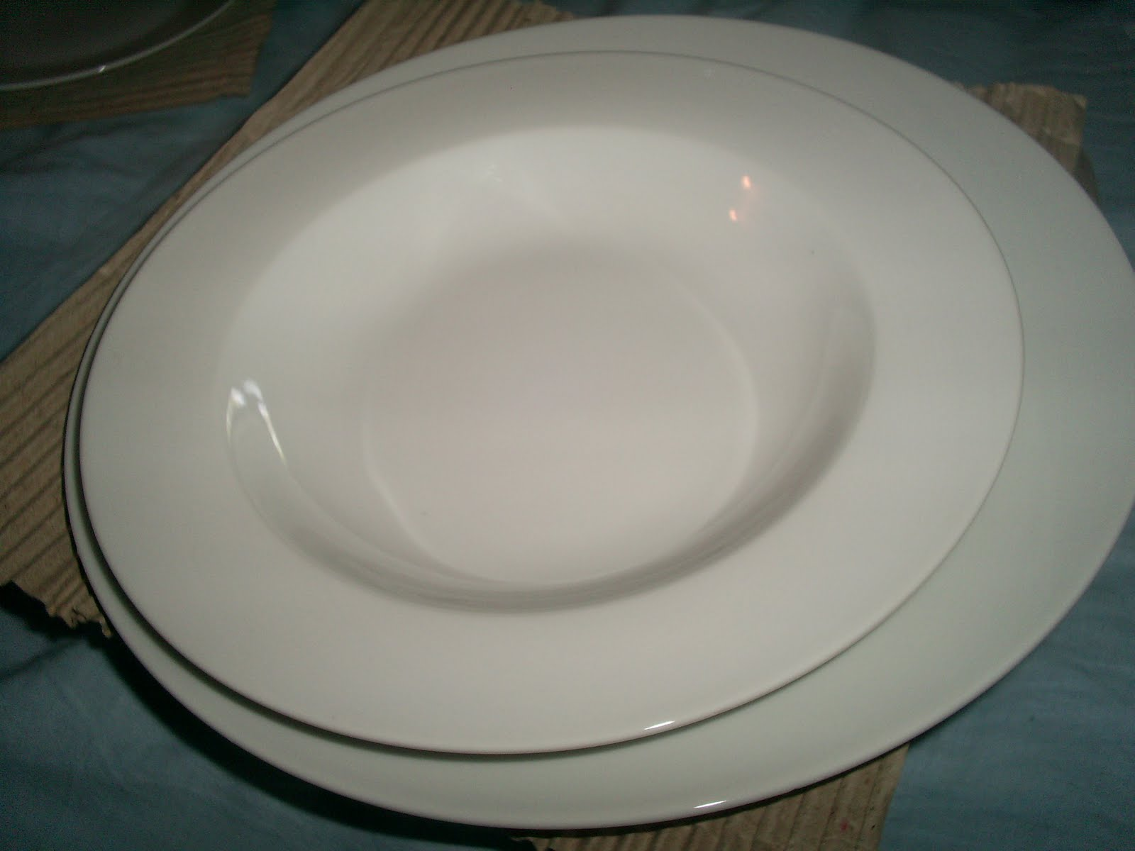 colimarket vajilla blanca porcelana