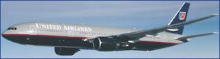 UAL plane