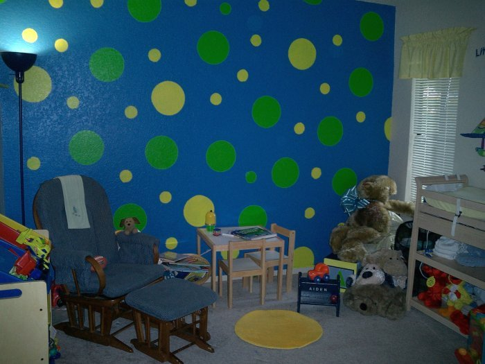 How to How to paint circles on wall