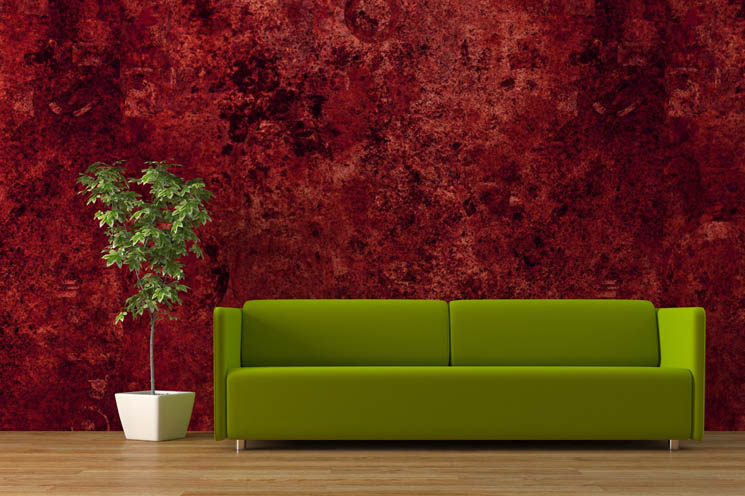 Green Wall Faux Finish Painting Techniques