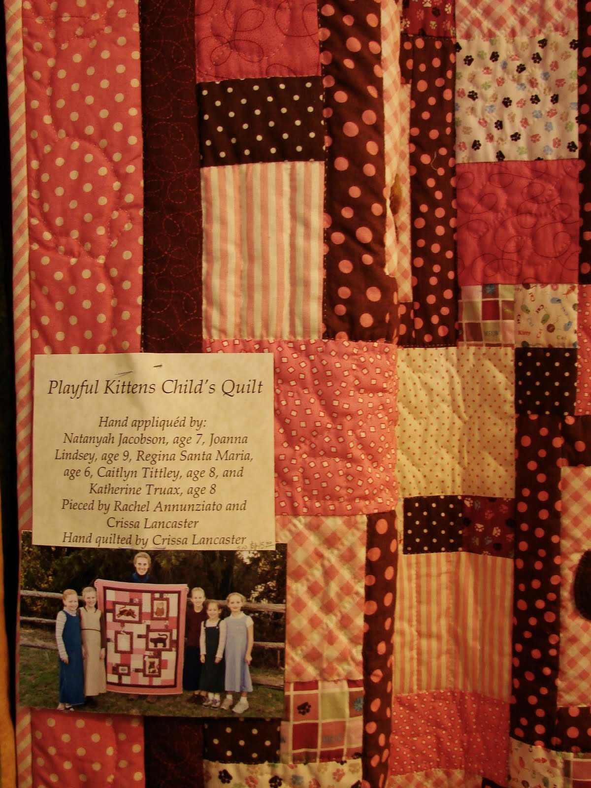 Morningramble quilts from homestead heritage craft fair for Quilt and craft show