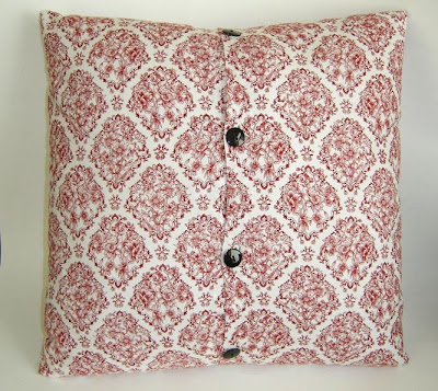 Applique Pillow Back