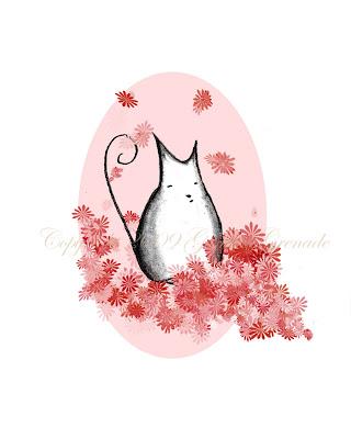 Bethezda in Blossoms Art Print