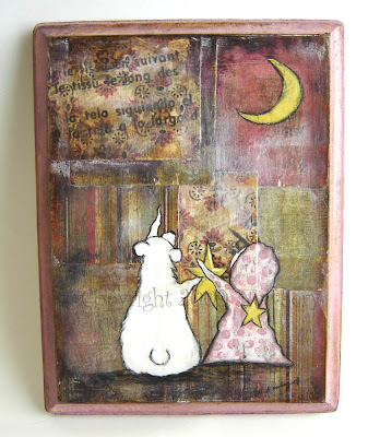 Safe Keeping Original Mixed Media Painting