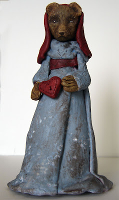 Polymer Clay Folk Art Sculpture