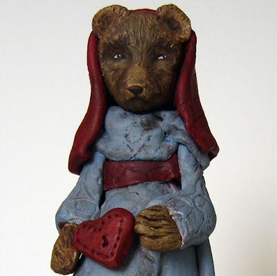 Bear Folk Art Doll 