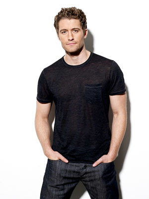 Matthew Morrison, Glee's impossibly dumb but perfectly dreamy Spanish