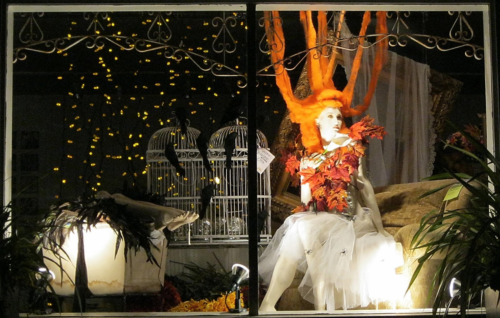 Rustymermaid digital art and photography halloween window for Decoracion de halloween