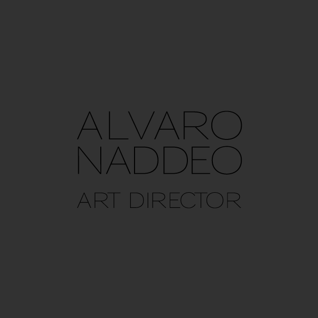 Alvaro Naddeo - Art Director