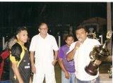 prefeito e diretor municipal de futebol premiação sport sat - departamento de bairro