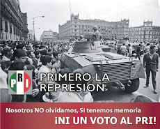 YA APRENDISTE? POR EL BIEN DE TODOS NI UN VOTO AL PRIAN.