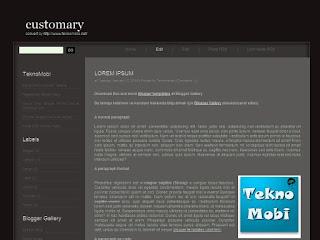 2 columns, left sidebar, blogger templates