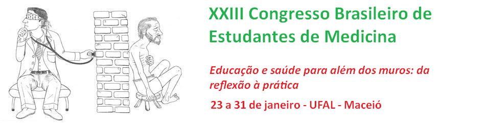 XXIII Congresso Brasileiro de Estudantes de Medicina
