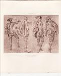Un Mezzetin Dansant par Watteau