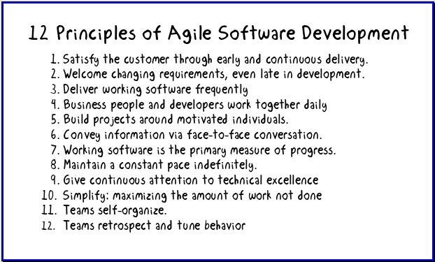 12 Principles For Agile Software on Color Life Cycle 7