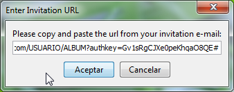 Imagen: PWAA - Enter URL