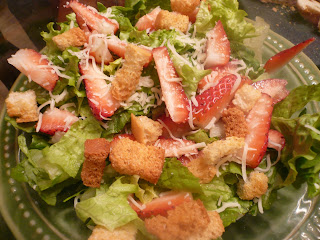Strawberry Salad with Citrus Dressing