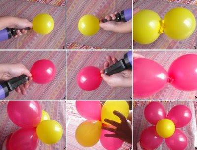 decoracion con globos para cualquier tipo de fiestas