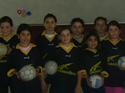 Equipo de mini handbal femenino: