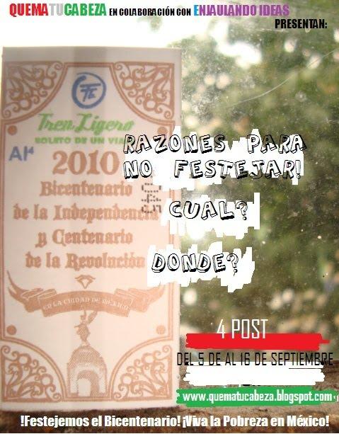 2010 RAZONES PARA NO FESTEJAR