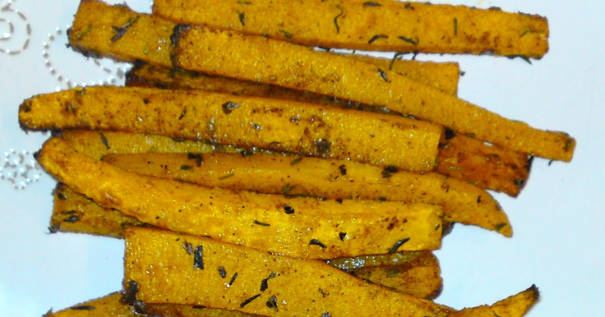 how to make pumpkin fries
