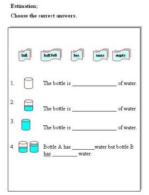sekolah kebangsaan perasu measure and compare volume of liquid. Black Bedroom Furniture Sets. Home Design Ideas