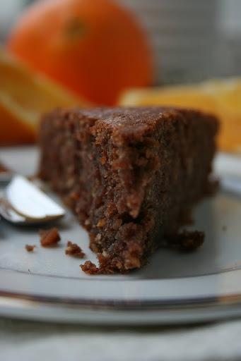 Ciasto czekoladowe z całą pomarańczą