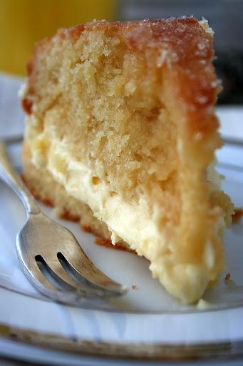 Ciasto z lemon curdem