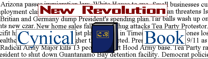 New Revolution - Cynical Book