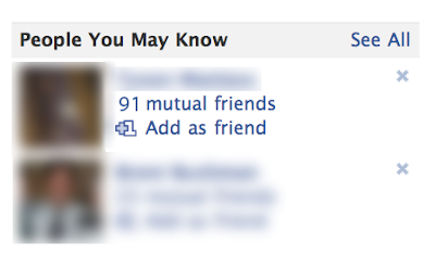 Dating through mutual friends