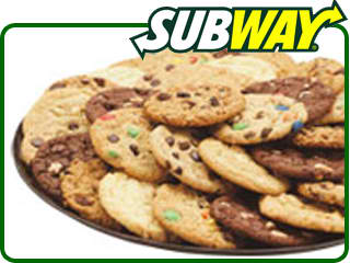 Calories In Subway Cookie Double Chocolate