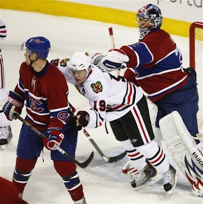 Blackhawks-Canadiens: Price Stands Tall Against 'Hawks
