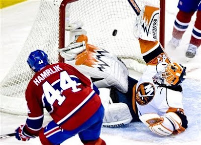 Islanders-Canadiens: Hamrlik's Goal Gives Habs Another OT Win