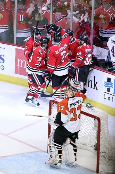 Flyers-Blackhawks: Last Goal Wins