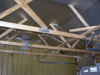 Robert S Projects How To Make A Pole Barn Style Garage