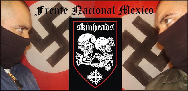 SKINHEADS MEXICO FRENTE N.