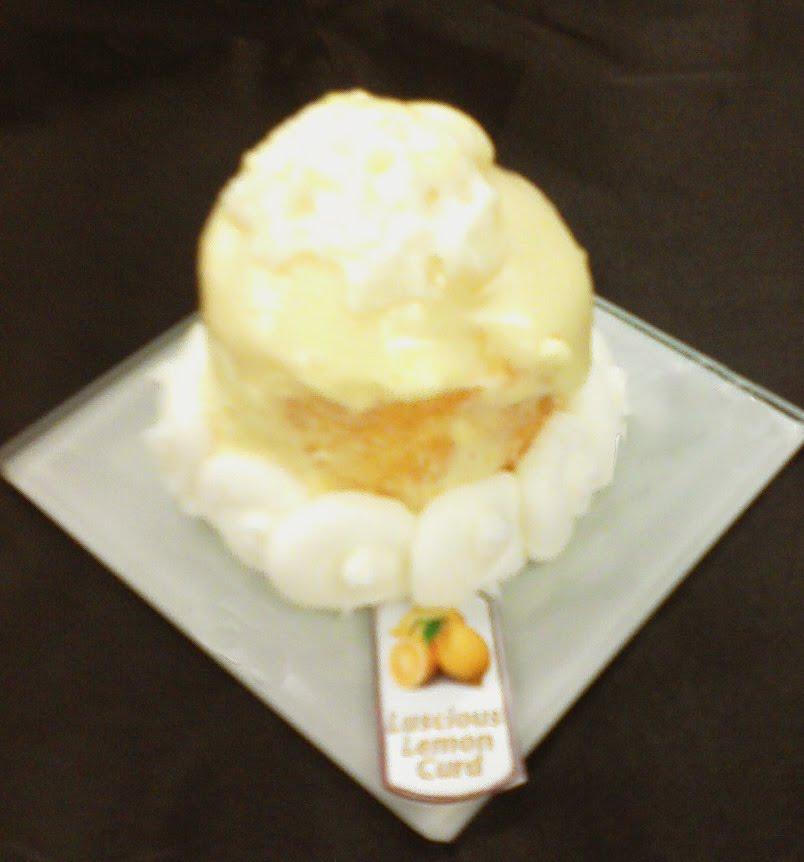 Here's the recipe: Luscious Lemon Curd Mini Cakes