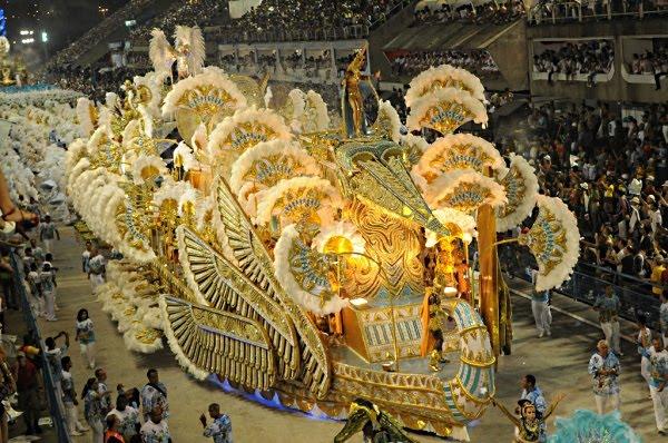 Parada karnawał Rio de Janeiro