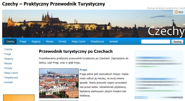 Czechy Przewodnik Praga