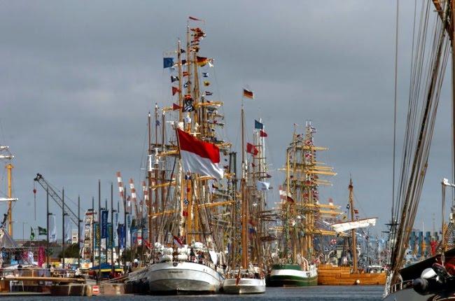 Zlot Statków 2010 Niemcy Bremerhaven