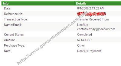 7º Comprobante Neobux