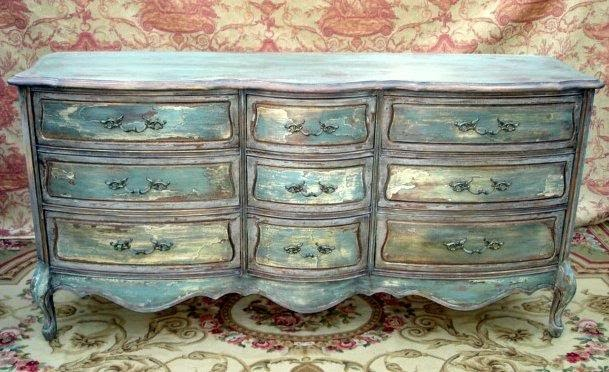 Painted french provincial furniture modern diy art designs for Italian painted furniture