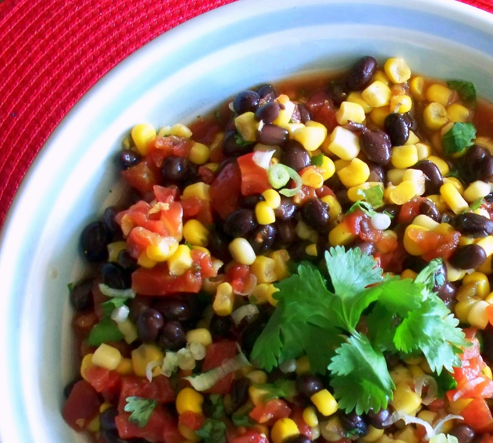 Seaside Simplicity: Easy Corn and Black Bean Salsa