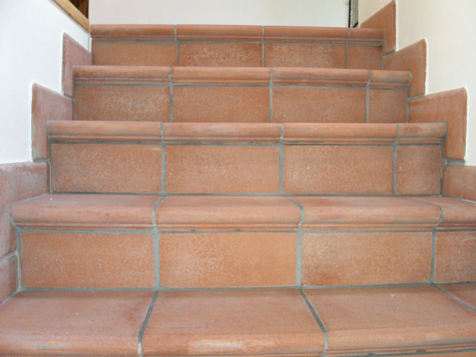 Fratelli bigucci pavimenti in cotto e scale - Scale da esterno in muratura ...