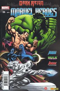 Chronique comics: Marvel Heroes # 25